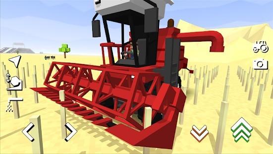 Blocky Farm Racing Simulator Para Hileli MOD APK [v1.43] 6