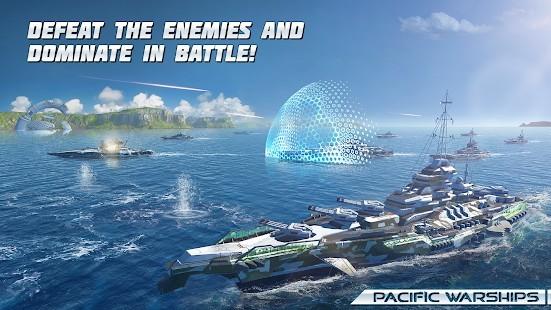 Pacific Warships Naval PvP Mermi Hileli MOD APK [v1.1.04] 2
