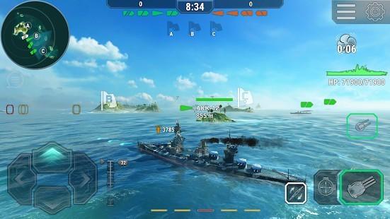 Warships Universe Naval Battle Para Hileli MOD APK [v0.8.2] 2