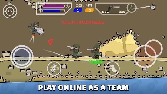 Mini Militia - Doodle Army 2 El Bombası Hileli MOD APK [v5.3.6] 5