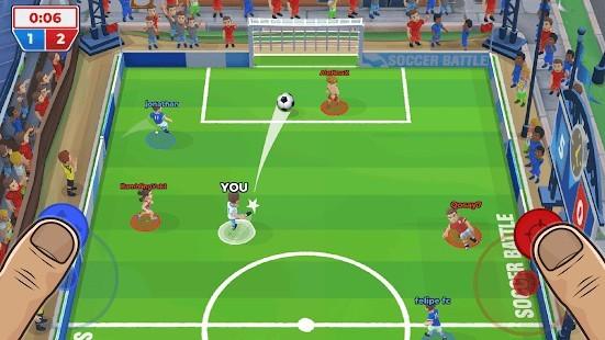 Soccer Battle (Futbol Savaşı) Para Hileli MOD APK [v1.21.5] 3