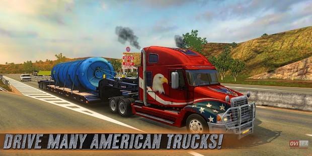 Truck Simulator USA Para - Altın Hileli MOD APK [v4.1.2] 4