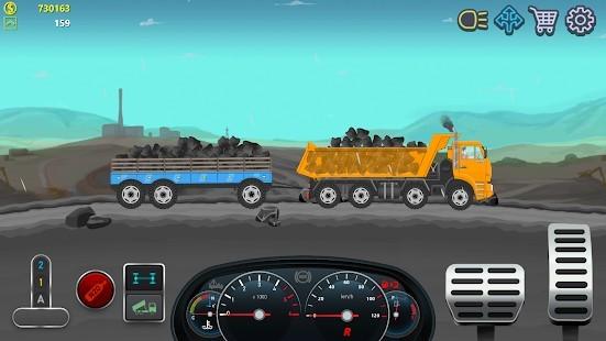 Trucker Real Wheels Simulator Para Hileli MOD APK [v3.6.0] 4