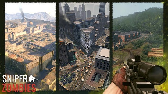 Sniper Zombies Para Hileli MOD APK [v1.44.0] 1