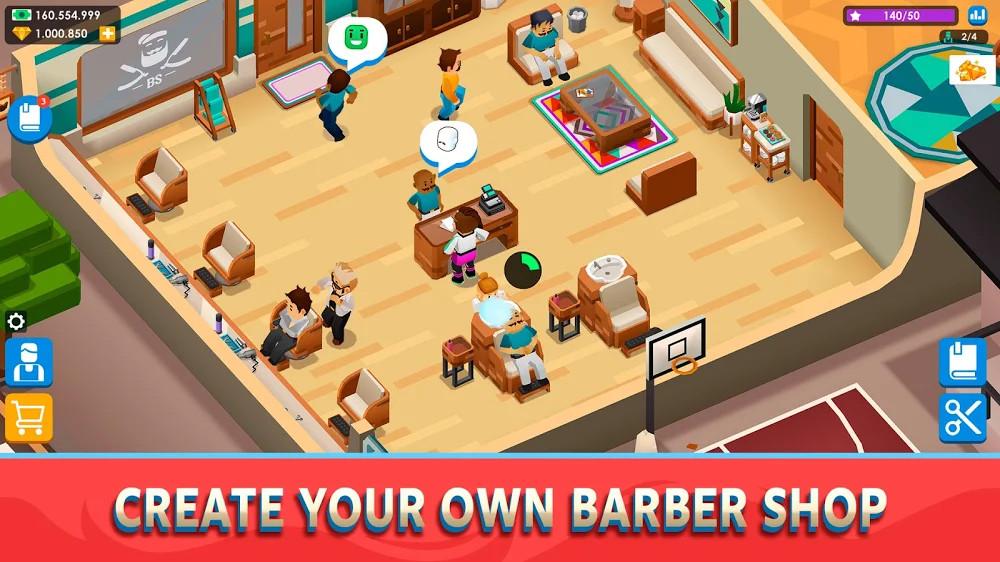 Idle Barber Shop Tycoon Para Hileli MOD APK [v1.0.7] 4