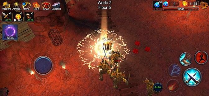 Dungeon Clash 3D Para Hileli MOD APK [v2.1.32] 5
