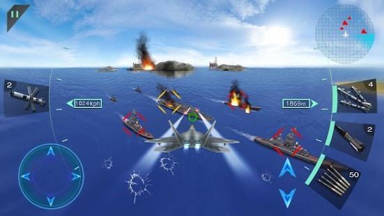 Gökyüzü Savaşçıları 3D Para Hileli MOD APK [v2.0] 2