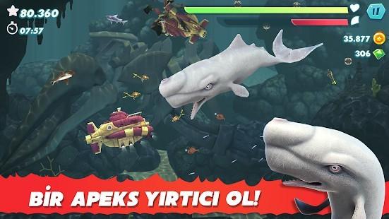 Hungry Shark Evolution Elmas Hileli MOD APK [v8.8.6] 3