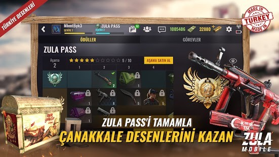 Zula Mobile Mega Hileli MOD APK [v0.21.1] 4
