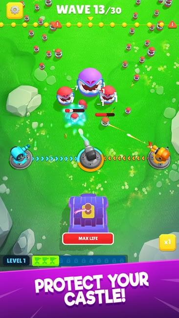 Auto Defense – Epic Real Castle Battler Para Hileli MOD APK [v0.9.9.15] 1