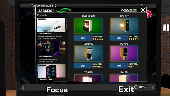 Internet Cafe Simulator Para Hileli MOD APK [v1.4] 3