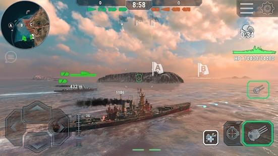 Warships Universe Naval Battle Para Hileli MOD APK [v0.8.2] 3