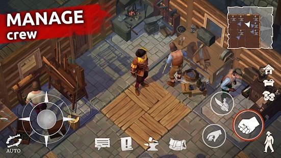Mutiny Pirate Survival RPG Para Hileli MOD APK [v0.18.2] 3