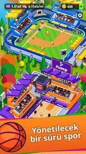 Sports City Tycoon Para Hileli MOD APK [v1.11.0] 5