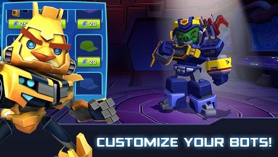 Angry Birds Transformers Elmas Hileli MOD APK [v2.11.0] 5