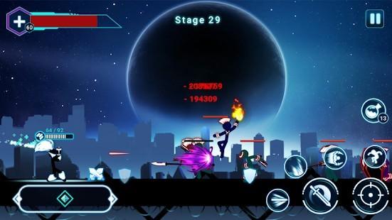 Stickman Ghost 2 Galaxy Wars Para Hileli MOD APK [v7.5] 2