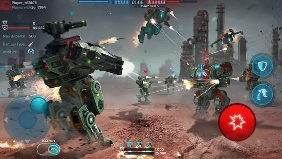 Robot Warfare Mermi Hileli MOD APK [v0.4.0] 1