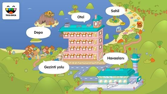 Toca Life Vacation Full Hileli MOD APK [v1.3-play] 2