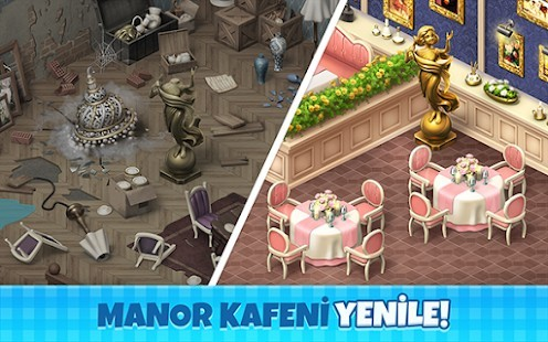 Manor Cafe Para Hileli MOD APK [v1.102.7] 4