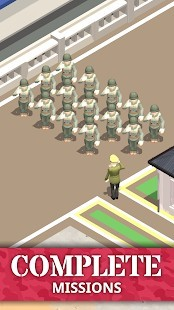 Idle Army Base Tycoon Game Para Hileli MOD APK [v1.24.1] 1