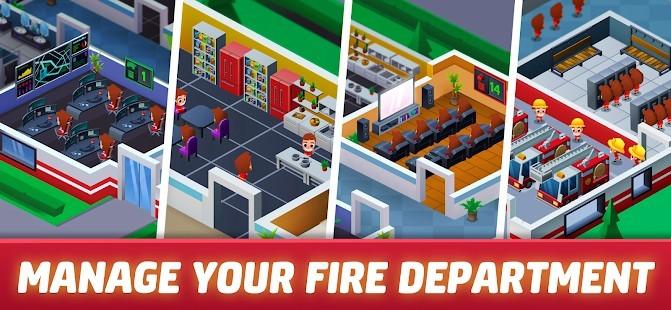 Idle Firefighter Empire Tycoon Para Hileli MOD APK [v0.27] 2