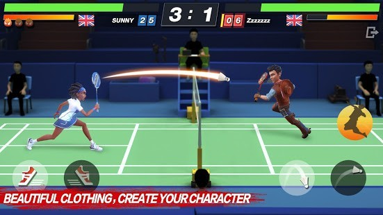 Badminton Blitz Para Hileli MOD APK [v1.1.23.2] 3