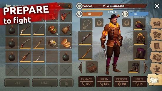 Mutiny Pirate Survival RPG Para Hileli MOD APK [v0.18.2] 2