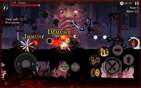 Shadow of Death Dark Knight Para Hileli MOD APK [v1.100.4.0] 1