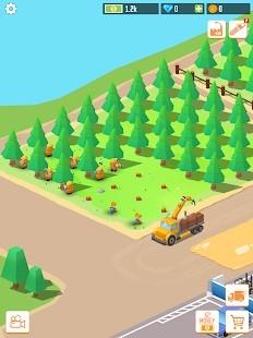 Idle Forest Lumber Inc Para Hileli MOD APK [v1.3.0] 1