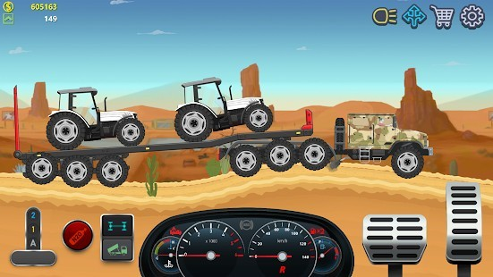 Trucker Real Wheels Simulator Para Hileli MOD APK [v3.6.0] 5