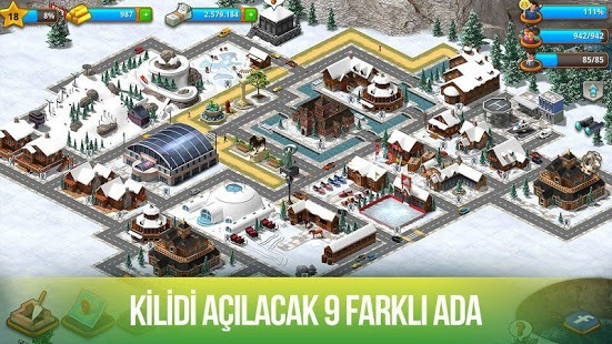 Paradise City Para Hileli MOD APK [v2.4.10] 4