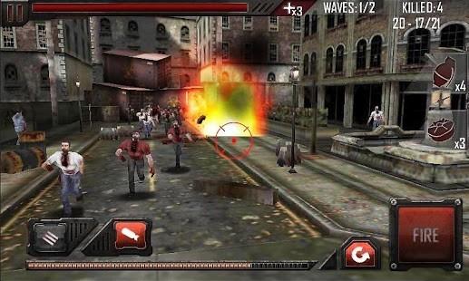 Caddede Zombileri Öldürme 3D Para Hileli MOD APK [v1.0.14] 4