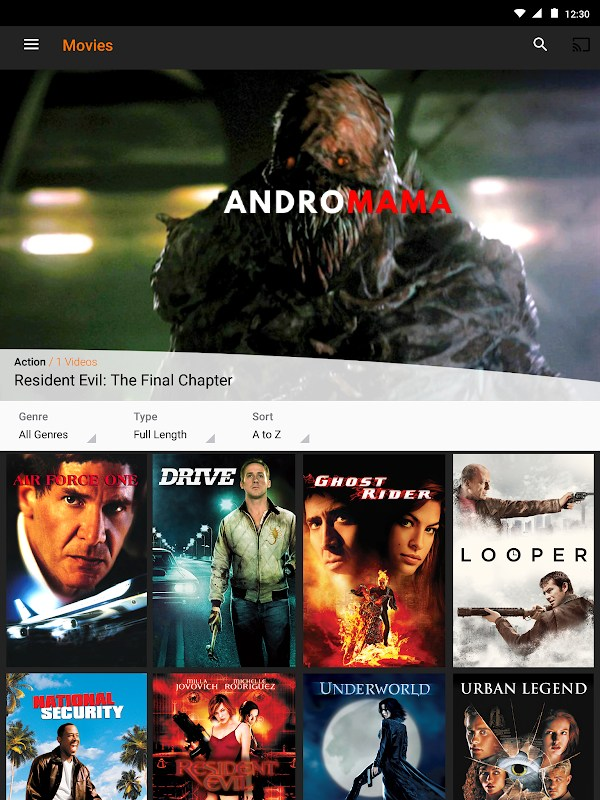 Crackle MOD APK - Film izleme Uygulaması [v7.10.0.1] 10