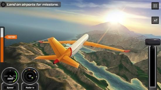 Flight Pilot Simulator 3D Para Hileli MOD APK [v2.4.3] 1