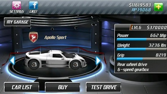 Drag Racing Para Hileli MOD APK [v2.0.28] 1