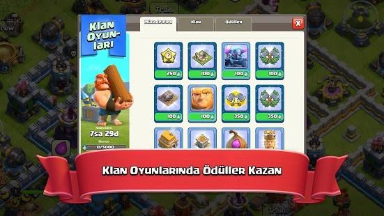 Nulls Clash of Clans Full Hileli MOD APK [v14.93.11] 2