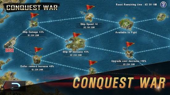 WARSHIP BATTLE 3D World War II Para Hileli MOD APK [v3.4.0] 2