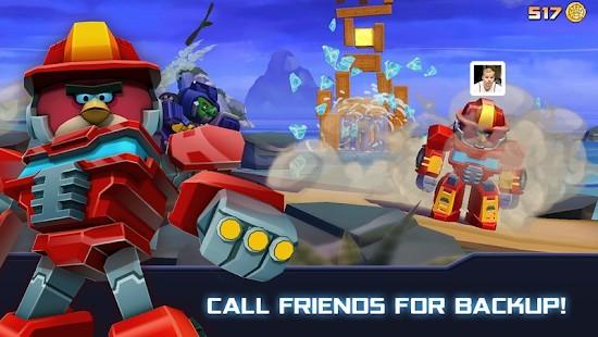 Angry Birds Transformers Elmas Hileli MOD APK [v2.11.0] 4
