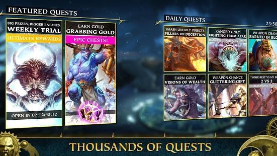 Warhammer Quest Silver Tower Para Hileli MOD APK [v1.2009] 4