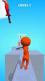 Sword Play Biçer Doğrar Ninja 3D Para Hileli MOD APK [v5.1] 2