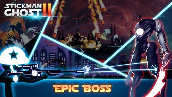 Stickman Ghost 2 Galaxy Wars Para Hileli MOD APK [v7.5] 5