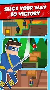 Mr Ninja - Slicey Puzzles Hileli MOD APK [v2.24] 3