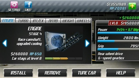 Drag Racing Para Hileli MOD APK [v2.0.28] 4
