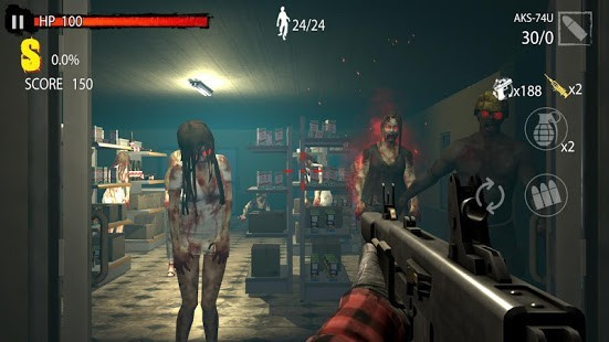 Zombie Hunter D-Day v1.0.818 MOD APK 5