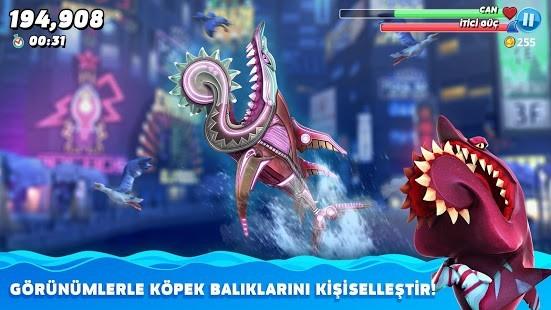 Hungry Shark World Para Hileli MOD APK [v4.4.2] 3