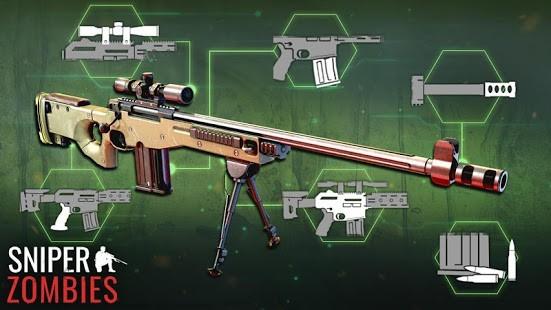 Sniper Zombies Para Hileli MOD APK [v1.44.0] 5