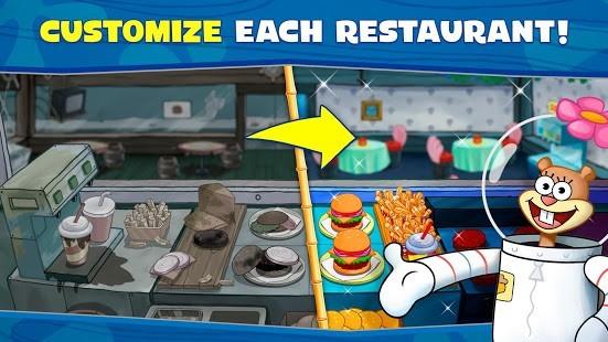 SpongeBob: Krusty Cook-Off v1.0.24 Hileli MOD APK 2