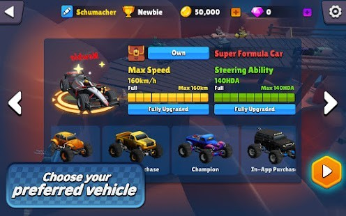 Minicar io Messy Racing Para Hileli MOD APK [v1.3] 5