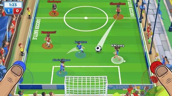 Soccer Battle (Futbol Savaşı) Para Hileli MOD APK [v1.21.5] 2