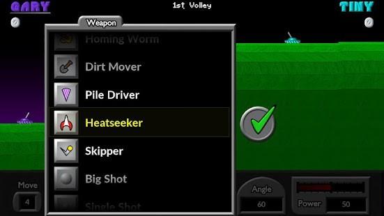 Pocket Tanks Silah Hileli MOD APK [v2.6.1] 4